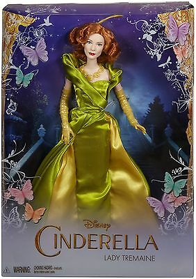 Disney Princess Cinderella Lady Tremaine Doll- Brand New & Boxed