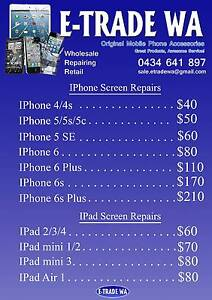 IPhones and IPad Repairs + 3 months Warranty *Mon& Wed Special Alexander Heights Wanneroo Area Preview