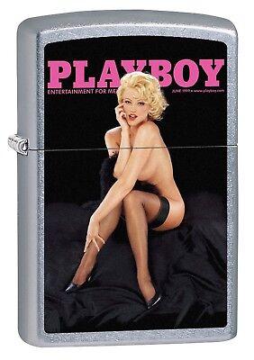Zippo Lighter: Playboy Cover June 1999 - Street Chrome 78984