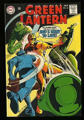 Green Lantern #62 VF 8.0 DC Comics