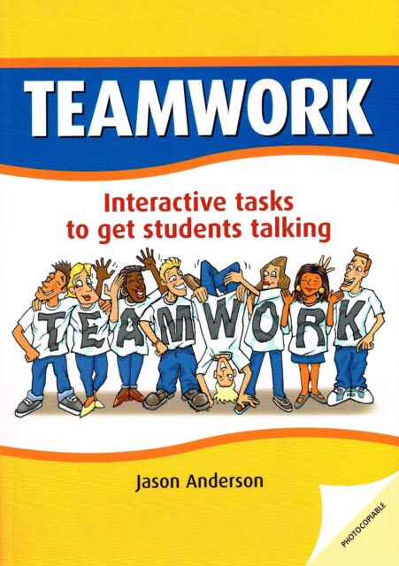 Delta TEAMWORK Photocopiable Interactive Tasks to get Students Talking @NEW BOOK