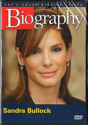 Biography   Sandra Bullock  Dvd  2007  A E Brand New