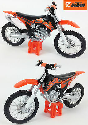 OFFICIAL KTM 450 SX-F 1:18 Die-Cast Motocross MX Toy Model Orange