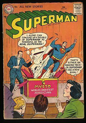 Superman #111 GD 2.0 Mysto Magician!