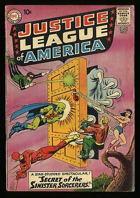 Justice League Of America #2 VG- 3.5 DC Comics