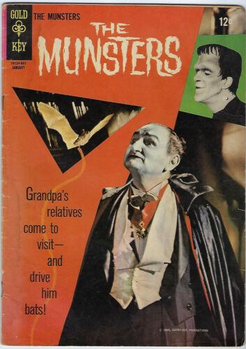 Gold Key Comics- The Munsters #5, January 1966