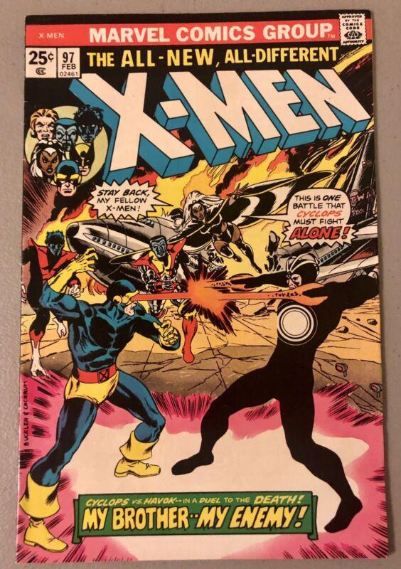 X-Men #97  (1st Appearance Lilandra ) F+