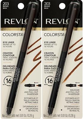 colorstay eyeliner pencil brown