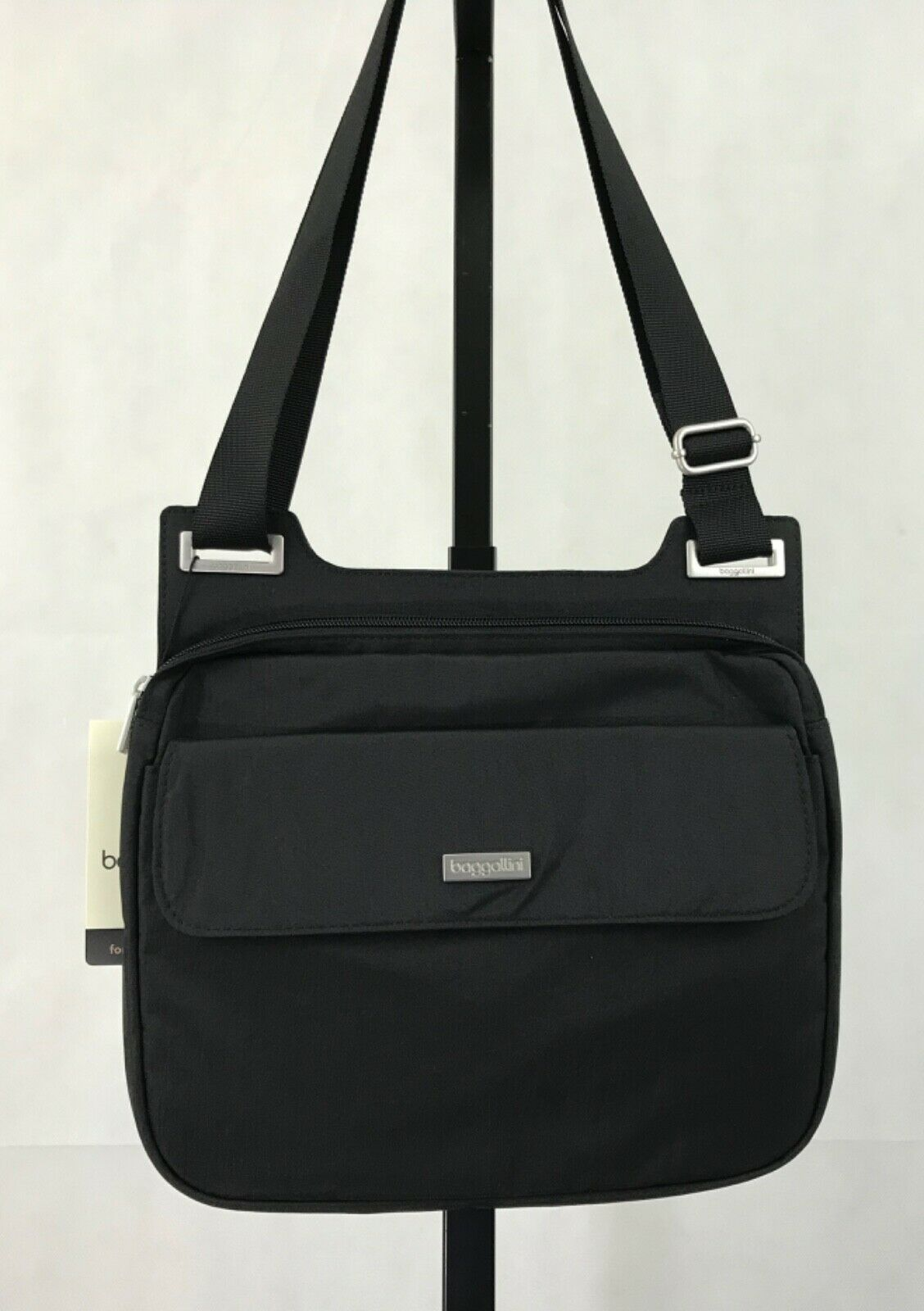 baggallini Crossbody Travel Bag Black NWT Lightweight Purse