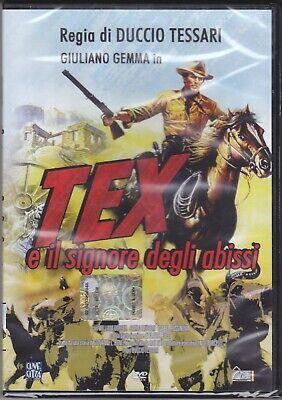 DVD Tex Y El Señor De Abismo Con Giuliano Gemma Nuevo 1985