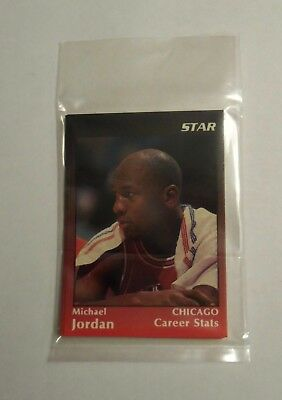 1991 STAR COMPANY MICHAEL JORDAN BASKETBALL SET -  5 CARDS  RARE PROMO 1000 MADE - Michael Jordan Party