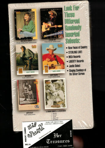 Country Gold Series 1 Factory Sealed 36 Pack Box Award Winning Artists