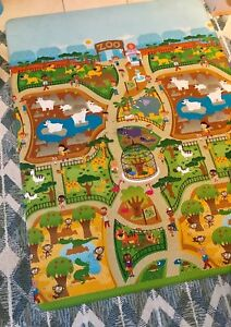 Prince Lionheart Awesome Place Mat - City and Zoo