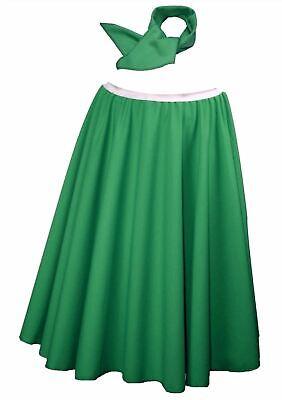 1950s St Patricks Day Shamrock Green Rock N - Damen Rock N Roll Kostüme