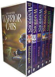 Warrior-Cats-Collection-Erin-Hunter-6-Books-Set-Pack-The-New-Prophecy