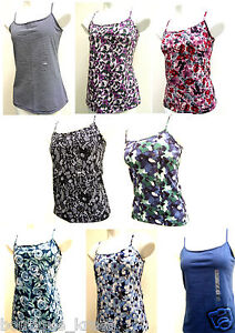 NWT-Ann-Taylor-Loft-Print-Knit-Adjustable-Straps-Cami-Top-sz-S-XL