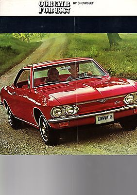 1967 Corvair Sales Catalog - From Dealers Shelves