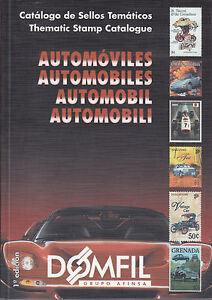 Domfil-AUTOMOBILES-Stamp-Thematic-Catalogue-1st-Edition-NEW