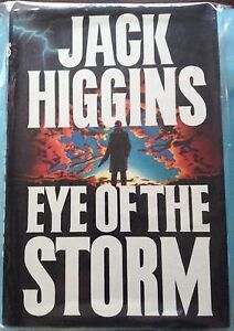 *First Edition* Eye of the Storm by Jack Higgins