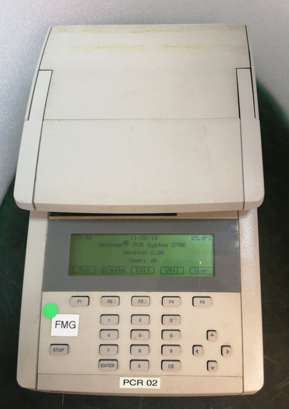 12827 Applied Biosystems Geneamp Pcr System 2700 4322620