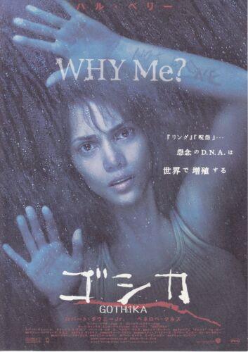 GOTHIKA: Halle Berry-Japanese  Mini Poster Chirash