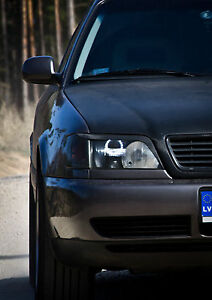 NEW-Audi-a3-a4-a6-a8-b5-b6-c4-c5-c6-LED-angel-eyes-kit-Worldwide-shipping