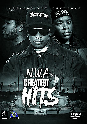 NWA EAZY E ICE CUBE DR DRE MUSIC VIDEOS HIP HOP RAP DVD STRAIGHT OUTTA COMPTON