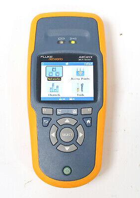 Fluke Networks Aircheck 802.11 Abgn Wi-fi Handheld Wireless Network Tester