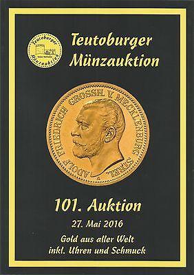 Auktions-Katalog-101-Gold aus aller Welt-25.5.2016-BRD--