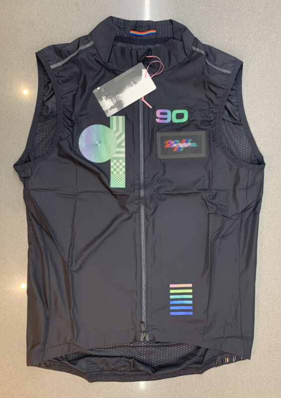 Rapha Futuro Lightweight Gilet Black Size Medium Ltd Edition Brand New Tag