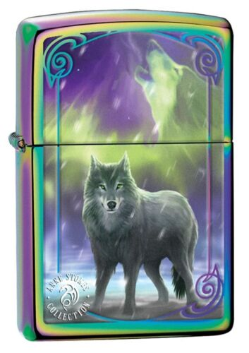 Zippo Windproof Anne Stokes Designed Wolf Lighter, 29348, New In Box