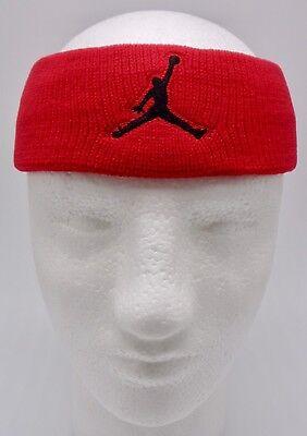 796401cef17 Nike Dri-Fit Jordan JumpMan Headband Gym Red/Black Mens Women's