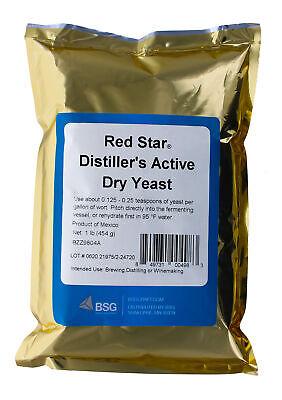Red Star Distiller's Yeast (DADY), 1 lb. Bulk