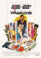 Film Riproduzione Live E Let Die Poster Stampa A3 Questo È Un Poster -  - ebay.it