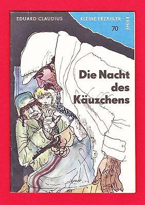 DDR Kleine Erzähler-Reihe Nr. 70 Die Nacht des Käuzchens 1966 TOP