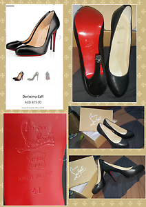 Authentic Christian Louboutin Red Soled Dorissima Calf Pumps sz41 Officer Cardinia Area Preview