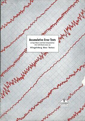 Brochure - Klingelnberg - Accumulative Error Tests Spur Gears Testers Tl152