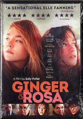 Ginger   Rosa  Dvd  2013  Annette Bening  Elle Fanning  Jodhi May