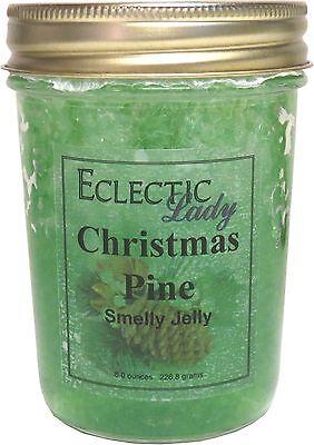 Christmas Pine Smelly Jelly, Room Air Freshener, 8 oz ()