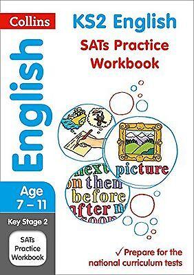 KS2 English SATs Practice Workbook (Collins KS2 SATs Revision and Pr... NEW BOOK