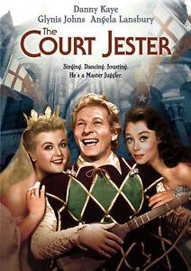 The Court Jester - DVD - 1955 Danny Kaye, Angela Lansbury, Cecil Parker   MOD