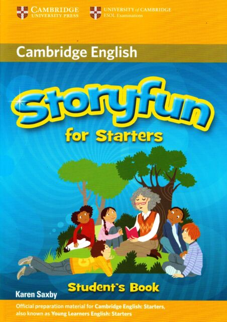 Cambridge English STORYFUN FOR STATERS Student's Book by Karen Saxby @BRAND NEW@