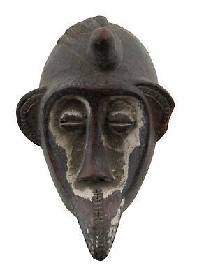 Masquette Mahou Dan Terracotta Mask Fetish Diminutive Art African 1149