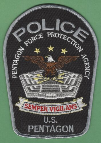 UNITED STATES PENTAGON POLICE FORCE PROTECTION AGENCY SHOULDER PATCH
