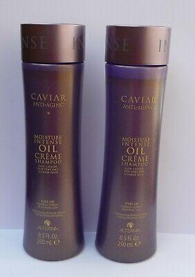 ALTERNA Caviar Moisture Intense Oil Creme Shampoo 2 x 250 ml