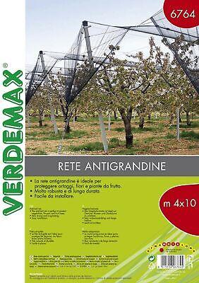 Verdemax 6764 4 x 10 m Hail Protection Netting