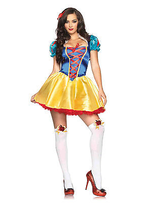 Fairytale Snow White Costume for Teen/Adult (all sizes) New by Leg Avenue 85516