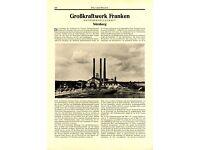 London #76801 80x60cm Battersea Kraftwerk Poster Kunstdruck Bild