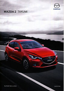 Mazda 2 Takumi 06 / 2016 catalogue brochure tcheque Czech rare - <span itemprop='availableAtOrFrom'> Varsovie, Polska</span> - Mazda 2 Takumi 06 / 2016 catalogue brochure tcheque Czech rare -  Varsovie, Polska
