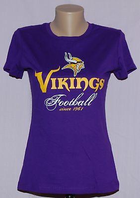 Minnesota Vikings Womens Establishment Year T Shirt    Nfl